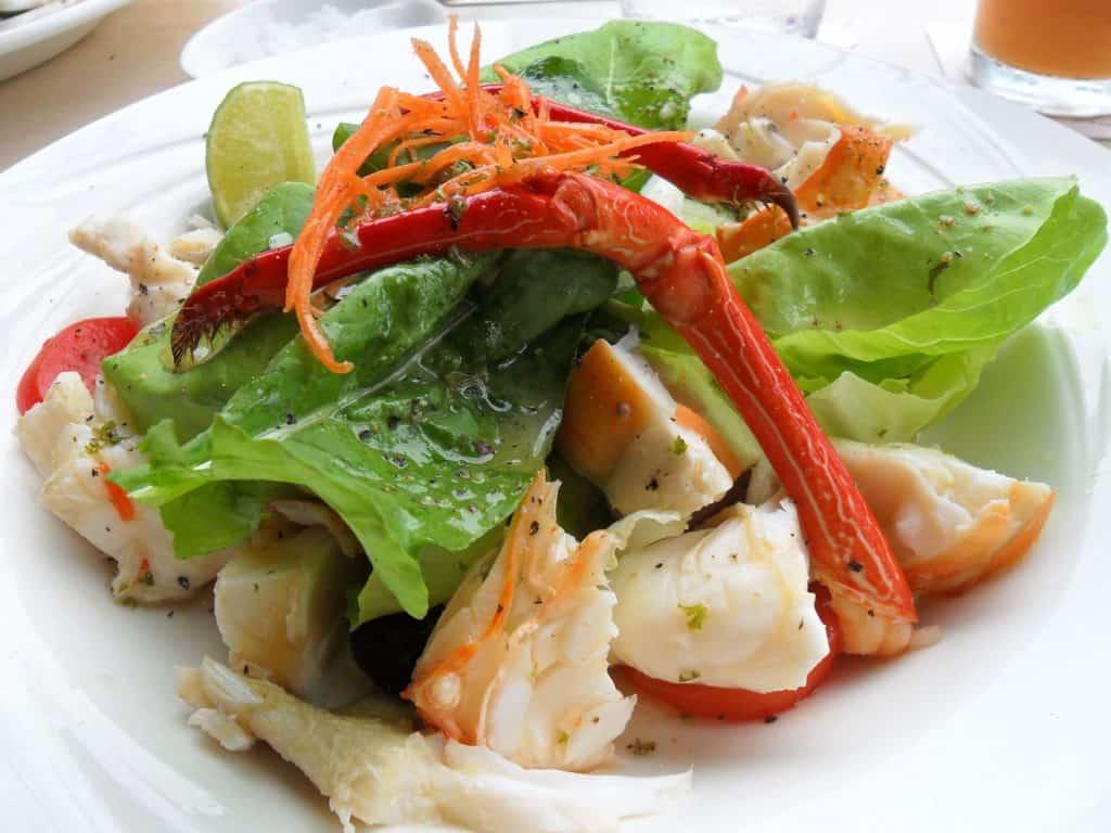 t7 - lobster salad