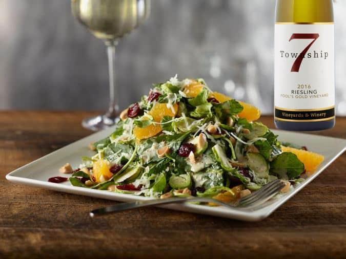 T7-salad w Riesling