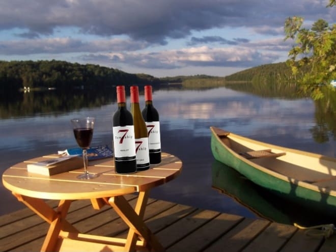 T7 - wine releases lakeside - Merlot Cab Pinot